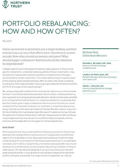 Portfolio Rebalancing: How and How Often?