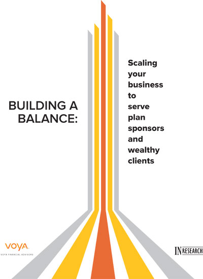 Building a Balance: Scaling your business to serve plan sponsors and wealthy clients