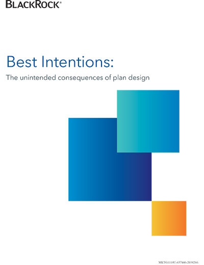Best intentions: unintended consequences of plan design