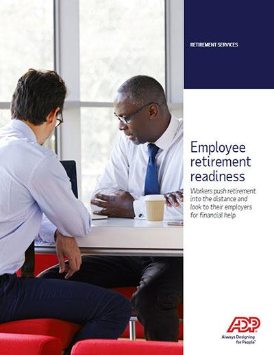 Employee retirement readiness
