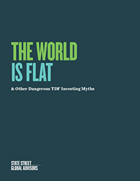 The world is flat & other dangerous TDF investing myths