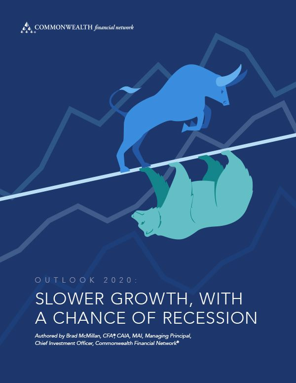Outlook 2020: slower growth, with a chance of recession