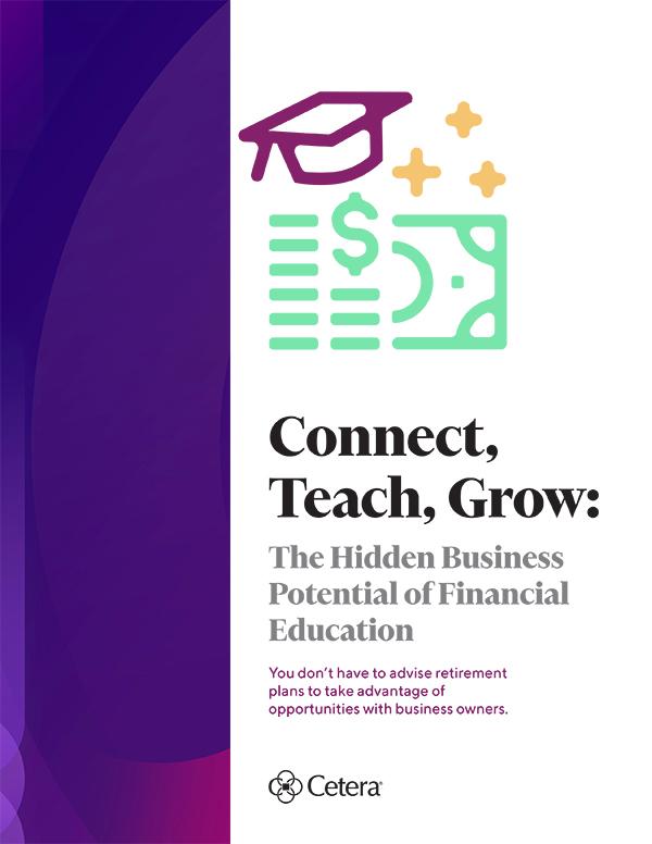 Connect, teach, grow