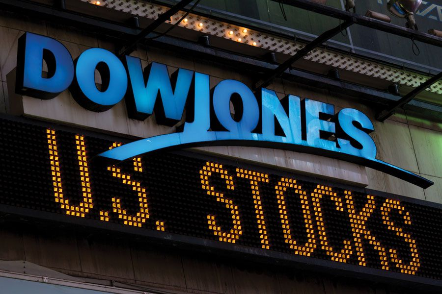 10 worst percentage losses ever for the Dow