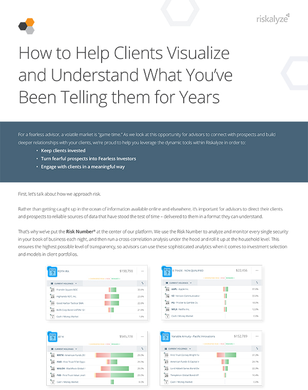 Help clients visualize what you've told them for years
