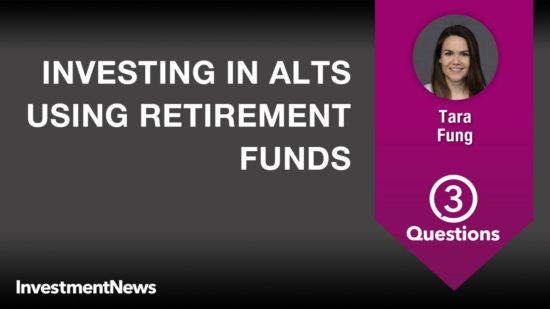 3 Questions: Tara Fung on investing in alts