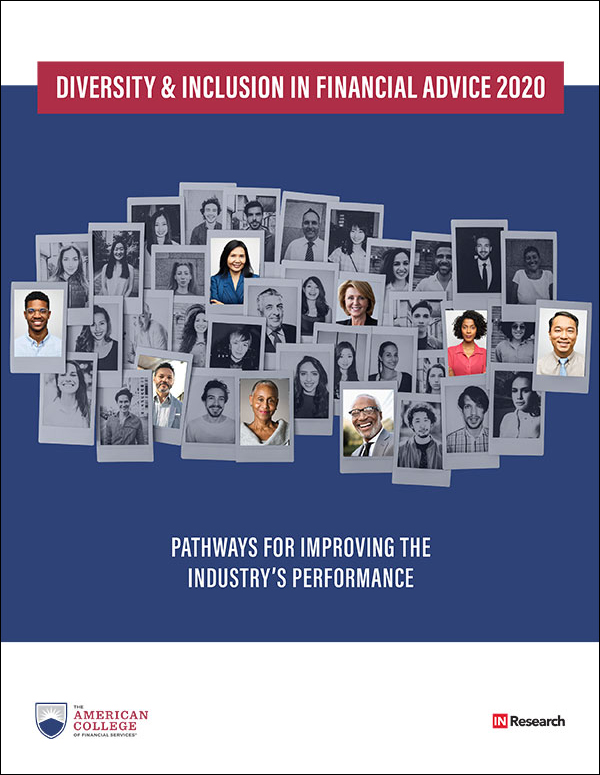 Diversity & Inclusion in Financial Advice 2020 Pathways for improving the industry's performance