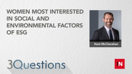 Women most interested in social and environmental factors of ESG