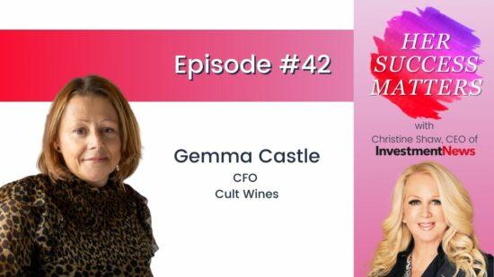 Gemma Castle, CFO, Cult Wines