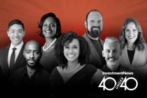 InvestmentNews' 2021 class of 40 Under 40