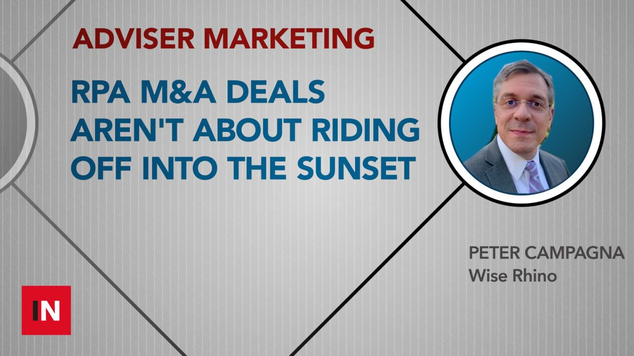 RPA M&A deals aren't about riding off into the sunset