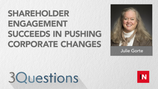 Shareholder engagement succeeds in pushing corporate changes