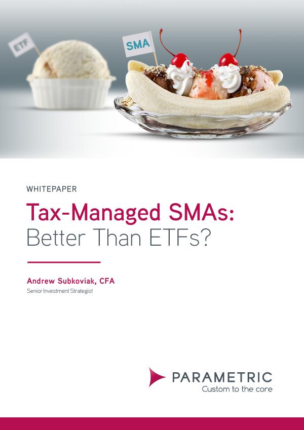 Tax-managed SMAs: better than ETFs?