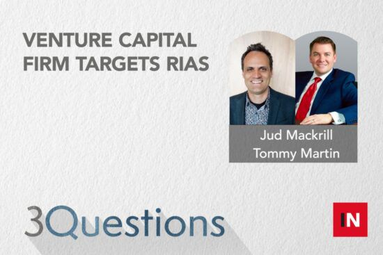 Venture capital firm targets RIAs