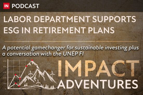 Labor Department supports ESG in retirement plans